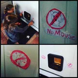 mus forbudt